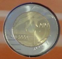 ===== 5 Euros Commémo Finlande 2005 Sorti Du BU (8 Pièces) Mais Légèrement Oxydé ===== - Finland