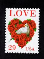 859481425 SCOTT 2814C POSTFRIS MINT NEVER HINGED EINWANDFREI (XX) - LOVE STAMP DOVE AND ROSES - Unused Stamps