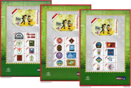 #Indonesia Personalized 2019 Sheet Stamps, World Scout Jamboree-Scout Mondial.MNH - Indonesien