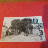 Cpa 72 Le Lude Boulevard Fisson - France