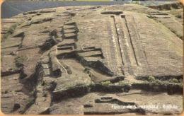 Bolivia - BO-ENTEL-034, Urmet, Fuerte De Samaypata, Ruins Of Ancient Towns, 20 Bs., 6/97, Mint - Bolivia