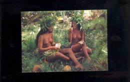 TAHITI Tahitienne Jeune Fille Femme Nue Nu Sein Seins Nus Nude Breast Tahitian Woman Girl Vahine Vahiné - Asie