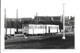 Turnhout - Tram Aan De Stelplaats.(Foto 14 X 9 Cm) - Turnhout