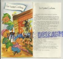 Les Trois Petits Cochons. Carte à Système Et Histoire. Luc Embourg. Photochrom - Contes, Fables & Légendes