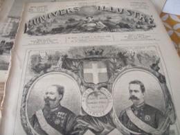 UNIVERS / ROME QUIRINAL /RASPAIL DEPUTE ARCUEIL CACHAN /JEUX STATION THERMALE SAXON VALIAS /RETARITE ARMEE TURQUE KAMARL - Magazines - Before 1900