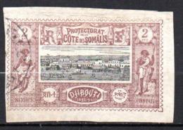 Col17  Colonie Cote Des Somalis  N° 7 Oblitéré  Cote 5,00€ - Oblitérés
