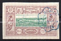 Col17  Colonie Cote Des Somalis  N° 10 Oblitéré  Cote 15,00€ - Oblitérés