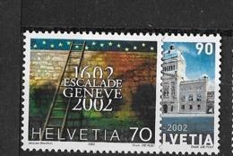 SUISSE N°1707-1708** - Unused Stamps