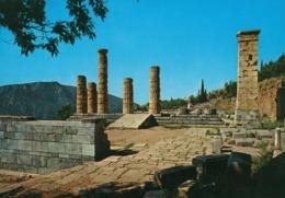 Greece - Delphi - Temple Of Apollo - The Columns - Griekenland