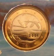 ===== 1 Euro Finlande 2006 Sorti Du BU (8 Pièces) Mais Légèrement Oxydé ===== - Finland