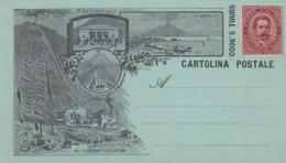 NAPLES , Italy , 1890s ; Cooks Funicolare-Vesuviana - Napoli
