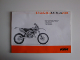 Catalogue Pour Moto KTM125/200SX-125/200EXC - Motor Bikes