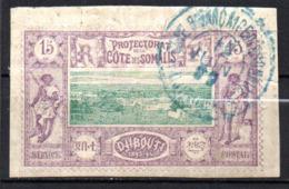 Col17  Colonie Cote Des Somalis  N° 11 Oblitéré  Cote 15,00€ - Oblitérés