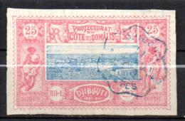 Col17  Colonie Cote Des Somalis  N° 12 Oblitéré  Cote 15,00€ - Oblitérés