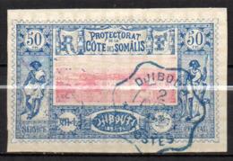 Col17  Colonie Cote Des Somalis  N° 15 Oblitéré  Cote 25,00€ - Oblitérés