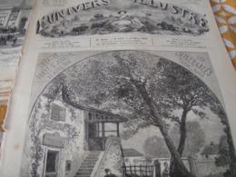 UNIVERS / THEATRE LES MISERABLES HUGO /PHONOGRAPHE APPAREIL ENREGISTREUR /BALSAMO ALEXANDRE DUMAS - Magazines - Before 1900