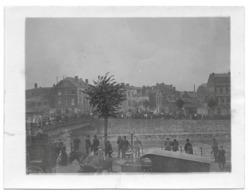 Liège 1910 Enterrement De L'aviateur Nicolas Kinet  Photo 9x12 - Luoghi