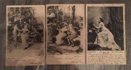 Série Riche, 3 Carte Circulées. Scan R/V - Collections