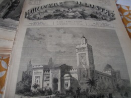 UNIVERS / EXPO UNIVERSELLE ALGERIE /GRECE MEETZA CHEF INSURGES /NAUFRAGE EURYDICE VAISSEAU ECOLE ILE WIGHT - Magazines - Before 1900