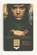 TELECARTE THEME CINEMA  LE  SEIGNEUR DES ANNEAUX 2001 - Cinema