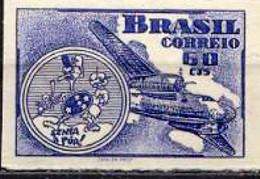 BRAZIL #RAB1 -  AVIATION WEEK  -  ICARUS  -  1947  OG MINT - Brazil