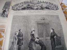 UNIVERS / FOURCHAMBAULT EMILE AUGIER /CONSTANTINOPLE /NAUFRAGE EURYDICE VAISSEAU ECOLE - Magazines - Before 1900