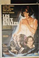"""Affiche Pliée """"Les Deux Rivales"""" 120x160 Claudia Cardinale - Manifesti"""