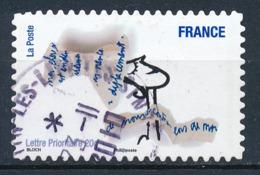 France - Sourires De Serge Bloch YT A474 Obl. Cachet Rond Manuel - Francia