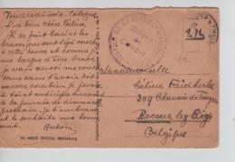 PR7461/ CP Marksburg En S.M. C.PMB-BLP C.Service Restitution Industrielle > Liège - Postmark Collection