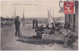 14. HONFLEUR. Le Raccommodage Des Filets. 43 - Honfleur
