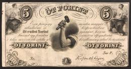 UNGHERIA Hungary 5 Forint Undated 1852 KM#S143  LOTTO 2955 - Ungarn