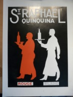 Ancienne Publicité 1935 Apéritif Saint Raphael Quinquina Blanc Rouge - Reclame