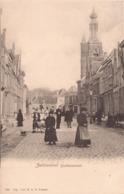 ZALTBOMMEL CA. 1900 GASTHUISSTRAAT MET VEEL VOLK - MOOIE ANIMATIE - Zaltbommel