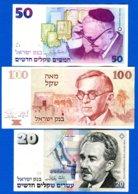 Israel  3  Billets - Israel