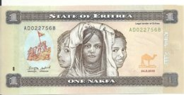 ERYTHREE 1 NAFKA 2015 UNC P 13 - Erythrée