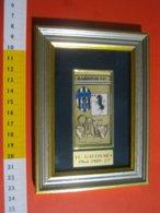 MED.1 ITALIA 1989 GATTINARA VERCELLI CALCIO FOOTBALL JUVENTUS CLUB ASSOCIAZIONE 25° FONDAZIONE 1 QUADRETTO - Apparel, Souvenirs & Other