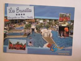 85 Vendée Les Brunelles Camp Atlantique Camping Longueville Sur Mer - Non Classés