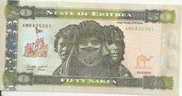 ERYTHREE 50 NAFKA 2011 UNC P 9 - Erythrée