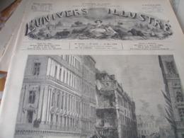 UNIVERS / PARIS CATASTROPHE RUE BERANGER /LE VESINET ORPHELINAT HAUSSONVILLER - Magazines - Before 1900