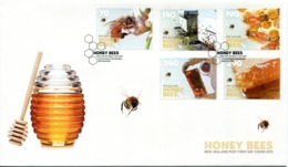 New Zealand 2013 Honey Bees FDC Cover - FDC