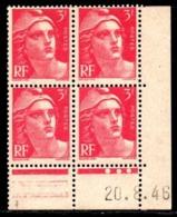 Coin Daté Gandon N° 716 Du 20/8/1946 ** - 1940-1949
