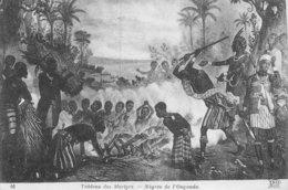 A-19-5548 :  TABLEAU DES MARTYRS. NEGRES EN OUGANDA. - Oeganda