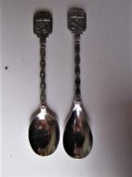 Deux Cuillères Souvenir - Namur Et Brabant - Spoons