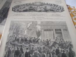 UNIVERS /VINCENNES SAINTE BARBE / VICTOR HUGO BANQUET HERNANI - Magazines - Before 1900