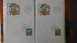 Dispersion D'une Collection D'enveloppe 1er Jour Et Autres Dont 52 De Différents Pays - Stamps