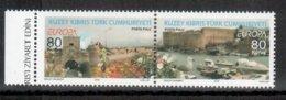 Turkish Republic Of Northern Cyprus / Türkisch-Zypern / Chypre Turc 2012 Pair/Paar EUROPA ** - 2012