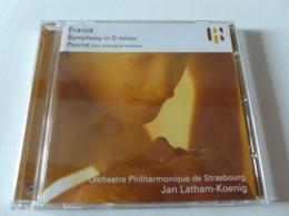 CD/ César Franck - Symphony In D Minor - Psyché / 2002 - Jan Latham-Koenig  - Orchestre Philharmonique De Strasbourg - Classical