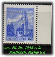 Österreich - Mi. Nr: 1048 W - In Postfrisch - 1945-60 Unused Stamps