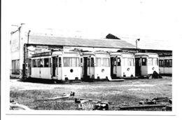 Maldegem  - Trams Voor De Afbraak. (Foto 14 X 9 Cm) - Maldegem