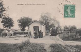 17 SAUJON LA GARE DU TRAM STATION VILLE - Saujon